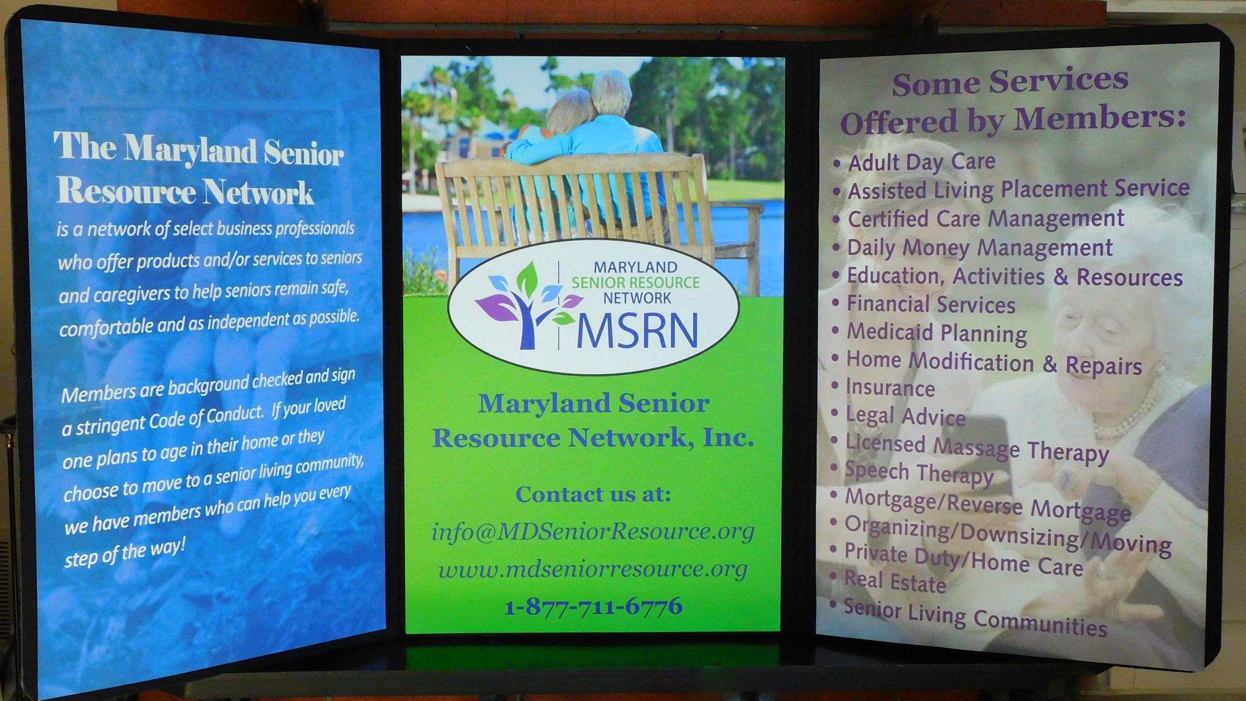 MSRN table display